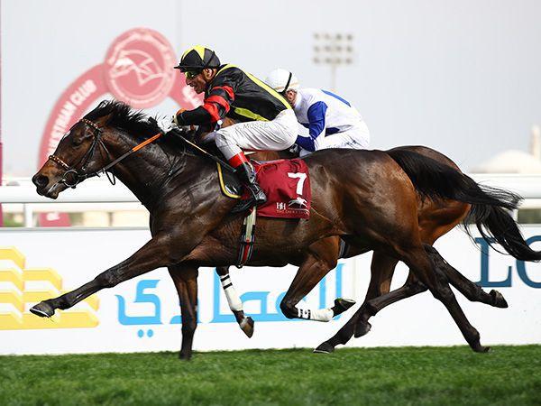 Global Spectrum winning the G2 Al Biddah Mile